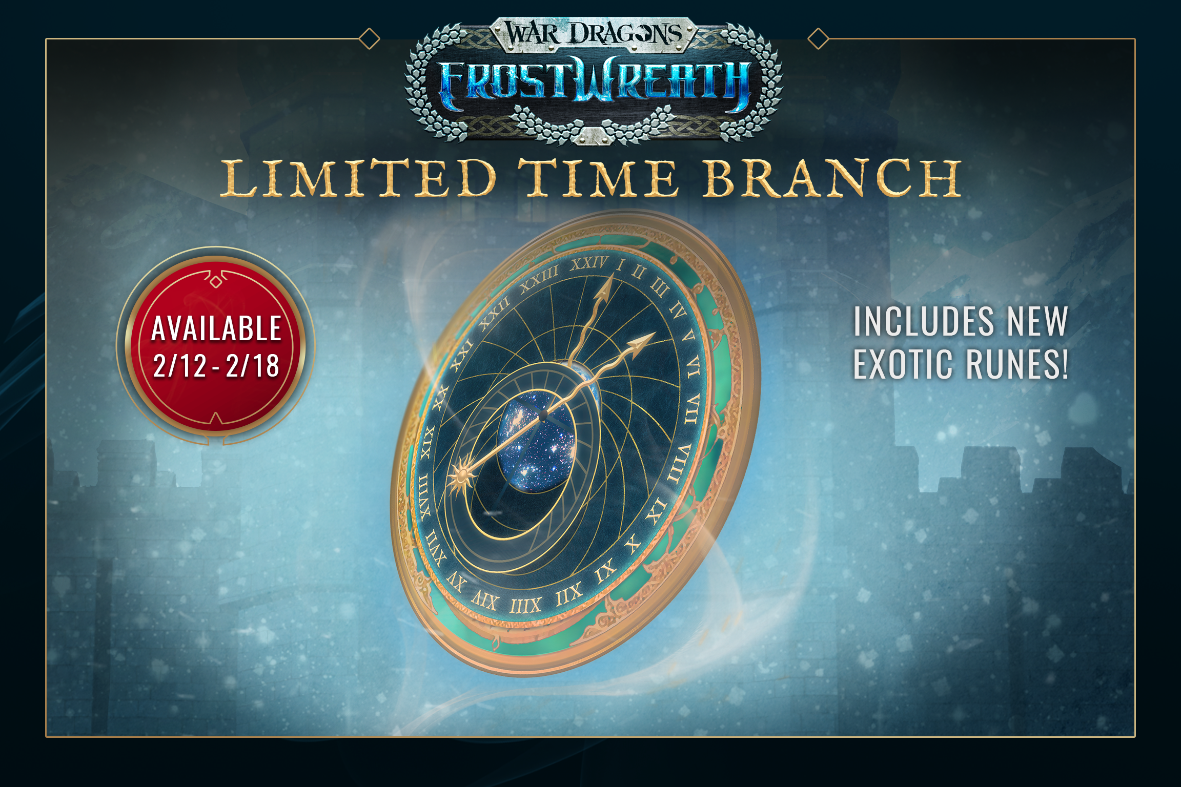 War Dragons - Frostwreath Limited Time Branch