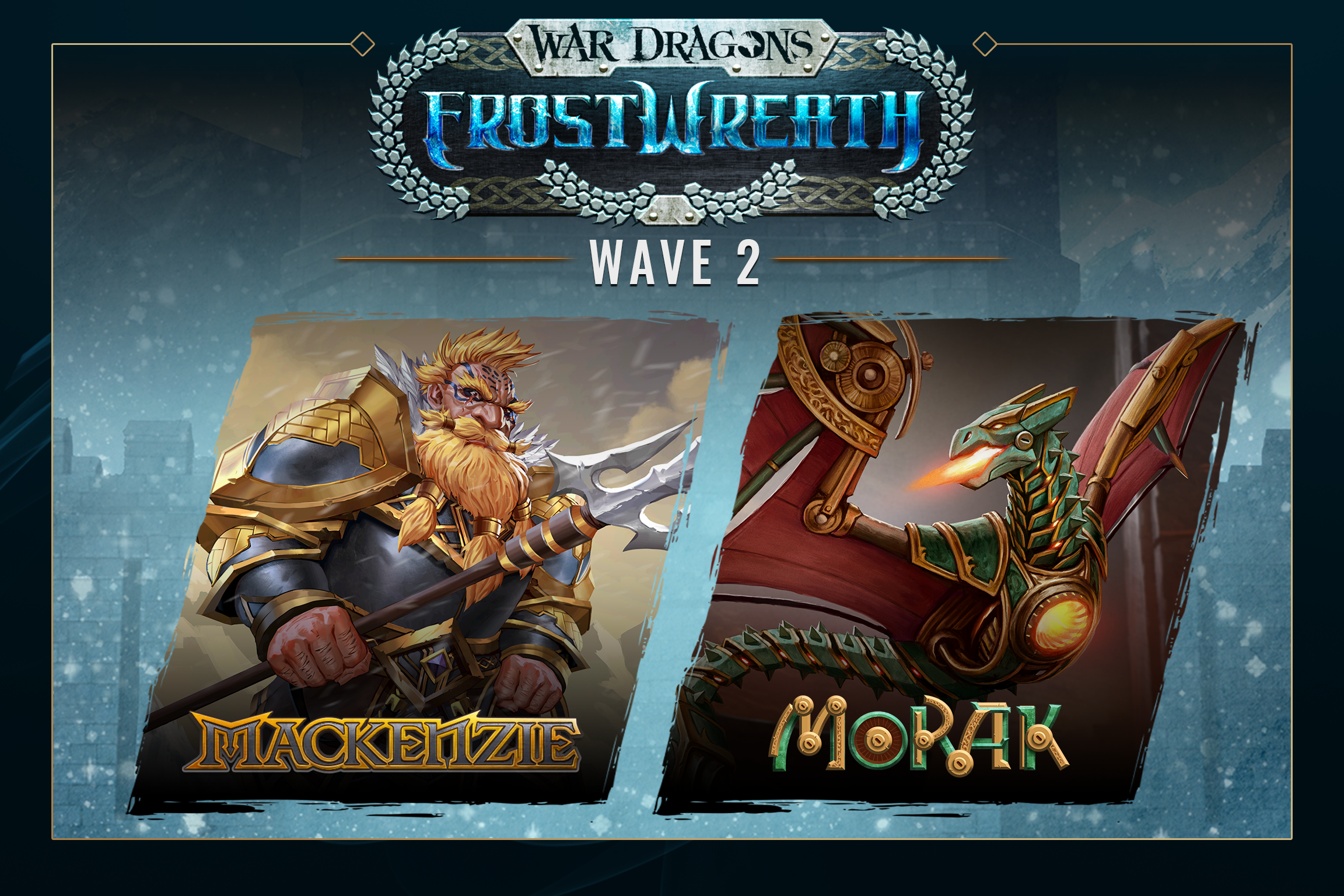 Frostwreath Wave 2 Announce